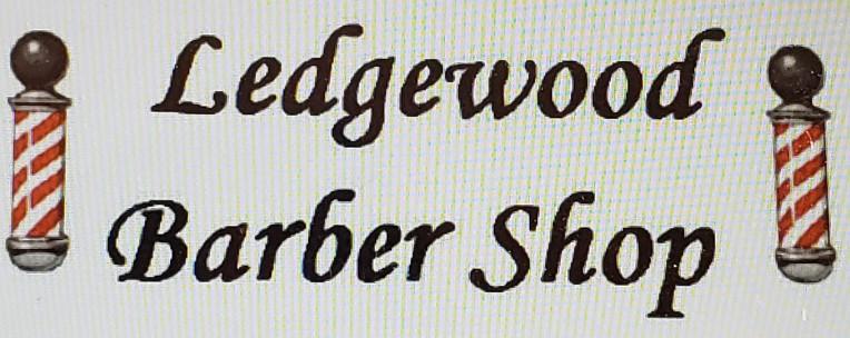 Ledgewood Barber Shop Logo